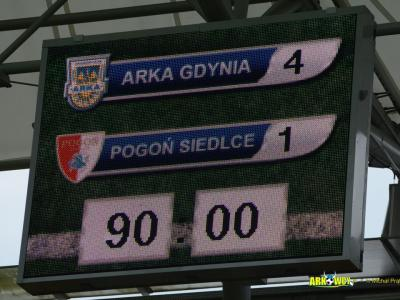 Arka Gdynia - Pogoń Siedlce (Michał Prątnicki)